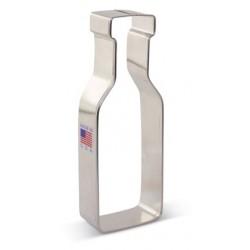 Emporte-pièce  wine bottle / bouteille de vin - 12.7 x 4.5 cm - Ann Clark