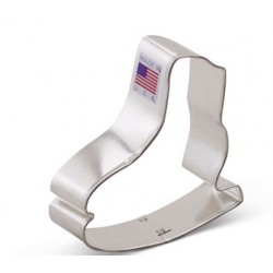 "Cookie cutter ice skate -  3"" - Ann Clark"