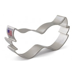 "Cookie cutter mask - 2 1/4"" x 4 1/2"" - Ann Clark"
