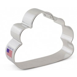 "Cookie cutter cloud - 3 3/4"" - Ann Clark"