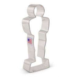 "Cookie cutter award statue -  5"" x 1 7/8"" - Ann Clark"