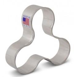 """Cookie cutter fidget spinner - 3 1/2"""" x 3 1/4"""" - Ann Clark"""