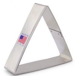 """Cookie cutter triangle - 3 1/2"""" - Ann Clark"""