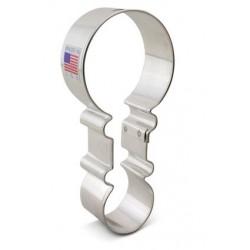 Emporte-pièce  rattle / hochet - 11.43 cm - Ann Clark