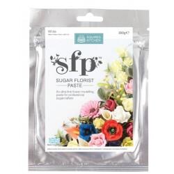 SK pâte à fleur - white / blanche - 200g - Squires Kitchen