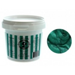 "Cake Lace ""pearlised emerald green"" 200g ready for use"
