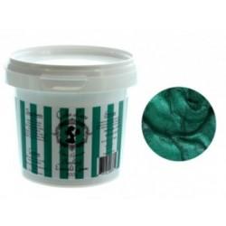 Cake Lace « pearlised emerald green /  perle vert émeraude » prête à l'emploi 200g