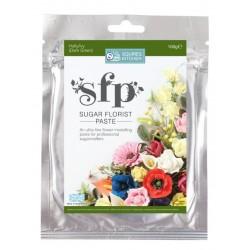 SK SFP sugar florist paste holly/ivy (dark green) 100g - Squires Kitchen