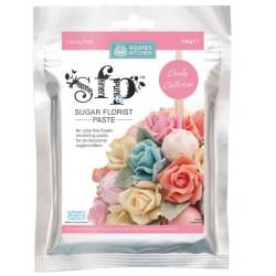 SK pâte à fleur - candy pink / rose bonbon - 200g - Squires Kitchen
