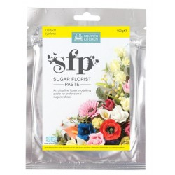 SK pâte à fleur - daffodil (yellow) / jonquille (jaune) - 100g - Squires Kitchen