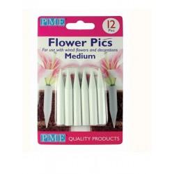 PME - tubes pour fleurs - medium - 12 pièces