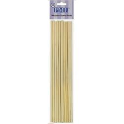 PME - wooden dowel rods - Ø 0.6 cm x  30 cm - 12 pk