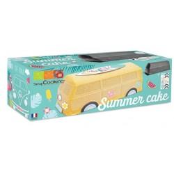 Summer cake kit - L23,5 cm x W 9 cm x H8,5 cm - ScrapCooking