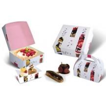 Boîtes à gâteaux - bûches  - pâtisseries  &  de transport