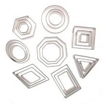 géométrique - plaque - cadre