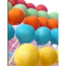 colorer les cake pops