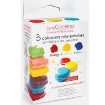 colorer les macarons
