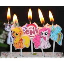les bougies avec thème
