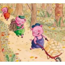 thème Les trois petits cochons