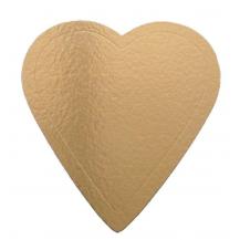support carton entremet coeur