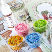 Flower soft - paillette colorée