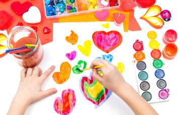 Para las actividades creativas